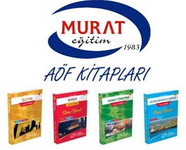 Murat Yayınları Aöf Kitapları