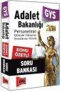 GYS Adalet Bakanlığı Konu Özetli Soru Bankası Yargı Yayınevi