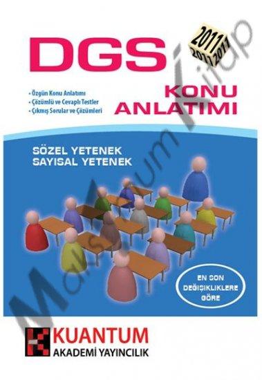 DGS Konu Anlatımlı Kitap Kuantum 2011