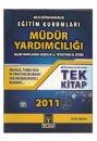 Müdür Yardımcılığı Sınavı 2011 Tek Kitap Tekağaç Yayınları