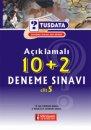 Açıklamalı 10+2 Deneme Sınavı Cilt 5