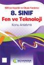 G�vender Yay�nlar� 8. S�n�f Fen ve Teknoloji Konu Anlat�ml� Kitap