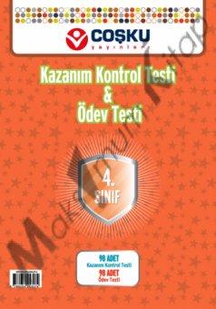 4 s�n�f Kazan�m Kontrol Testi & �dev Testi co�ku ya�nlar�