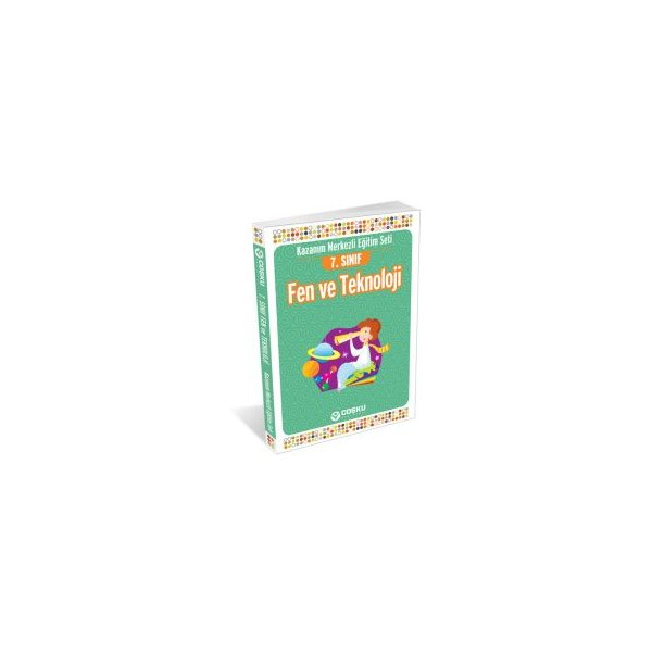 7.Sınıf Fen ve Teknoloji Konu Anlatımlı Kitap Coşku Yayınları