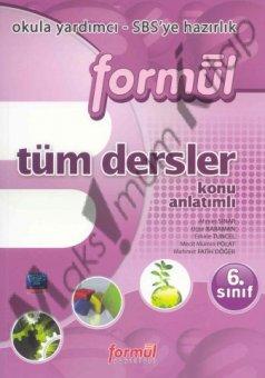6. SINIF T�M DERSLER Form�l Yay�nlar�