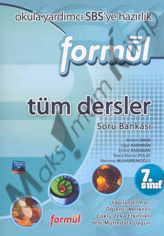 7. SINIF TÜM DERSLER SORU BANKASI Formül Yayınları