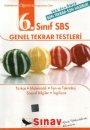 Sınav Yayınları 6. Sınıf SBS Genel Tekrar Testleri