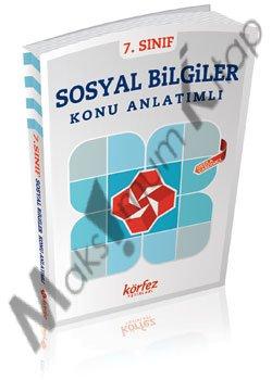 Körfez Yayınları 7. Sınıf Sosyal Bilgiler Konu Anlatımlı Kitap