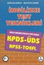 İngilizce Test Teknikleri KPDS-ÜDS-TOEFL-KPSS