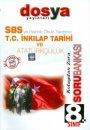 Dosya Yayınları TEOG  8. Sınıf T.C. İnkilap Tarihi ve Atatürkçülük Soru Bankası