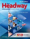 Oxford New Headway Intermediate Fourth Edition Student's Book with Workbook