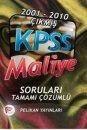 KPSS Maliye Soruları ve Çözümleri 2001-2010 Pelikan Yayınları