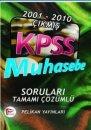 KPSS Muhasebe Soru ve Çözümleri 2001-2010 Pelikan Yayınları