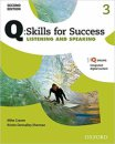 Oxford Q Skills for Success Listening and Speaking 3 Student Book with Online Practice 2. Edition