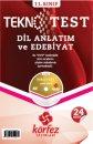 K�rfez Yay�nlar� 11. S�n�f Dil Anlat�m ve Edebiyat Tekno Test