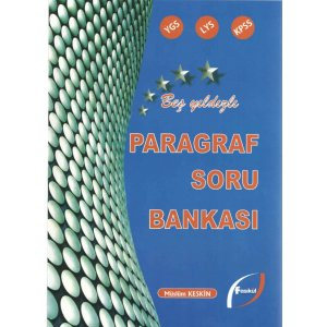 YGS LYS KPSS Paragraf Soru Bankası Fasikül Yayınları