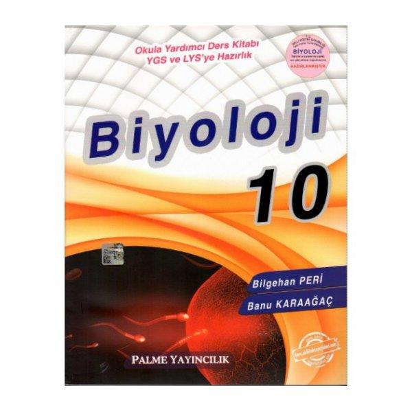 Palme Yayınları Biyoloji 10 Sınıf Konu Kitabı