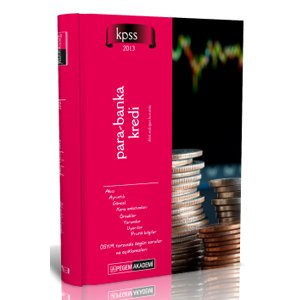 Pegem Yay�nlar� 2013 KPSS A Grubu Para Banka Kredi Konu Anlat�ml� Kitap
