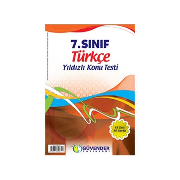 Güvender 7. Sınıf Türkçe Yaprak Test