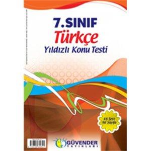 G�vender 7. S�n�f T�rk�e Yaprak Test