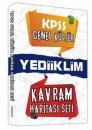 Yediiklim Yayınları  KPSS Genel Kültür Kavram Haritası Seti 2013