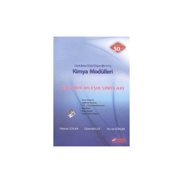 Esen Yayınları Kimya Modülleri Organik Bileşik Sınıfları