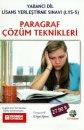 """Teorem Yayınları YDS Yabancı Dil Lisans Yerleştirme Sınavı - LYS 5 Paragraf Çözüm Teknikleri CD""""li"""