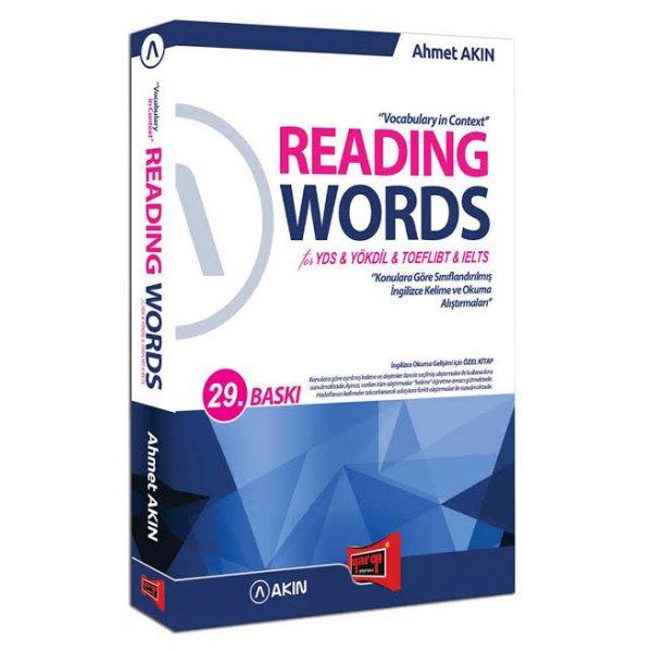 Yargı Yayınları Reading Words for YDS YÖKDİL TOEFL İBT IELTS 28. Baskı