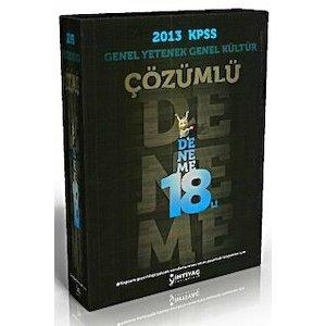 �htiya� Yay�nlar� 2013 KPSS Genel Yetenek Genel K�lt�r 18 ��z�ml� Deneme S�nav�