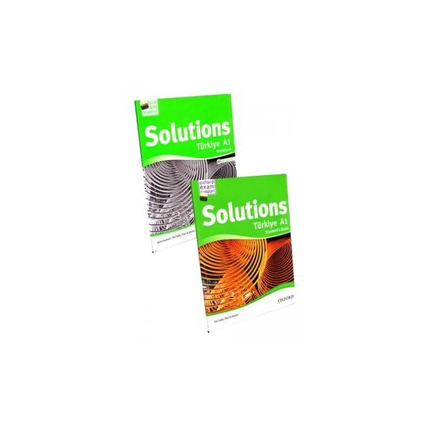 Oxford Solutions Türkiye A1 Students Book Workbook With Audio CD