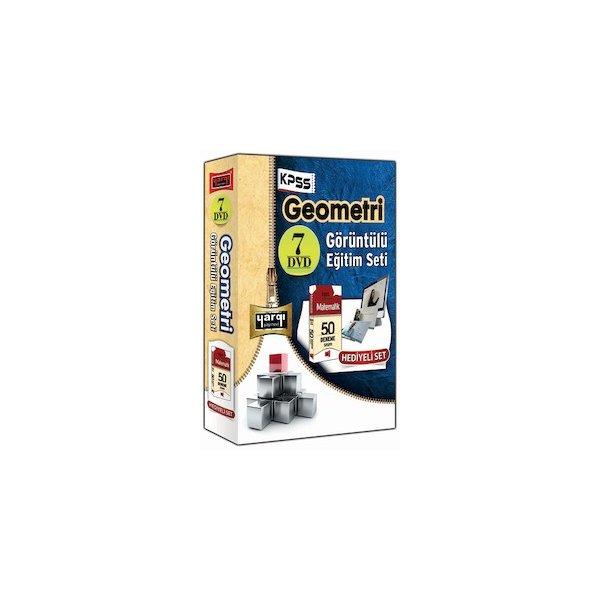 Yargı Yayınevi KPSS Geometri Görüntülü Eğitim Seti - 7 DVD Güncel - 2013