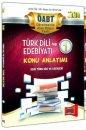 2014 �ABT T�rk Dili ve Edebiyat� Konu Anlat�ml� Mod�ler Set Yarg� Yay�nevi