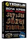 Yediiklim Yay�nlar� 2014 KPSS Genel Yetenek Say�sal S�zel Mant�k