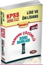 KPSS Lise ve �nlisans ��z�ml� Soru Bankas� Data Yay�nlar� 2014