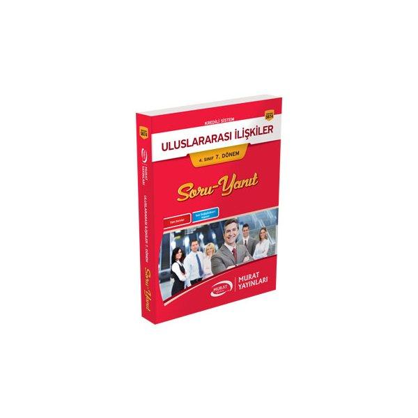 Murat Yayınları Açıköğretim Uluslararası İlişkiler 4. Sınıf 7. Dönem Soru Yanıt Kitabı