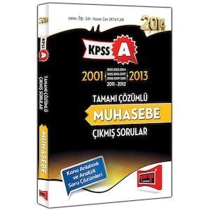 2014 KPSS A Grubu Muhasebe ��km�� Sorular ve ��z�mleri 2001-2013 Yarg� Yay�nlar�
