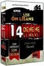 2014 KPSS Lise �nlisans 14 ��z�ml� Deneme S�nav� Yarg� Yay�nlar�