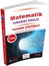 YGS Matematik Konu Özetli Tamamı Çözümlü Soru Bankası Sıradışı Analiz Yayınları