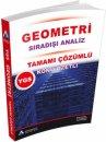 YGS Geometri Konu Özetli Tamamı Çözümlü Soru Bankası Sıradışı Analiz Yayınları