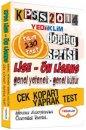 2014 KPSS Lise Önlisans Çek Kopar Yaprak Test Yediiklim Yayınları