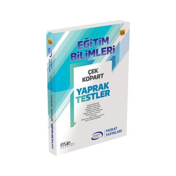 KPSS Eğitim Bilimleri Yaprak Test Murat Yayınları