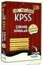 2014 KPSS Lise Önlisans Çıkmış Sorular ve Açıklamalı Çözümleri Kitapseç Yayınları