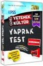 2014 KPSS Genel Yetenek Genel K�lt�r Yaprak Test Yarg� Yay�nlar�
