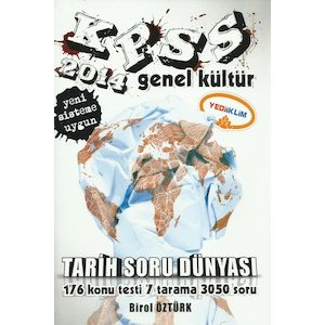 2014 KPSS Tarih Soru Dünyası Yediiklim Yayınları