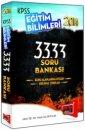 2014 KPSS E�itim Bilimleri 3333 Soru Bankas� Yarg� Yay�nlar�