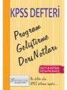 2014 KPSS E�itim Bilimleri Program Geli�tirme Ders Notlar� X Yay�nlar�