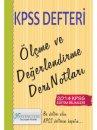 2014 KPSS E�itim Bilimleri �l�me ve De�erlendirme Ders Notlar� X Yay�nlar�