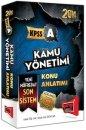 2014 KPSS A Kamu Yönetimi Konu Anlatımlı Kitap Yargı Yayınları