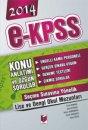 2014 EKPSS Engelli Kamu Personeli Seçme Sınavı Lise ve Dengi Okullar Konu Kitabı Adalet Yayınevi