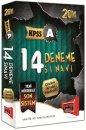 2014 KPSS A Çözümlü 14 Deneme Sınavı Yargı Yayınları